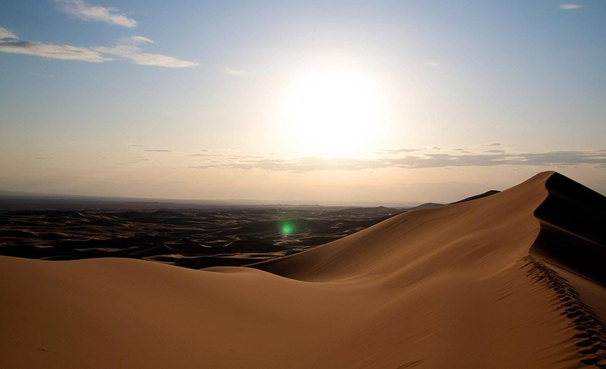 Adventure of Gobi and Great White Lake